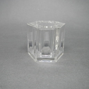 TAPA GRIMP 15MM HEXG/TRANSPARENTE ACRI